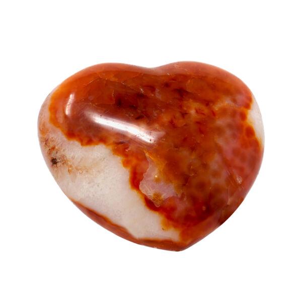 Closeup photo of Carnelian Heart