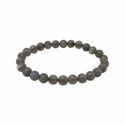 Closeup photo of Labradorite Bracelet A Quality 6mm