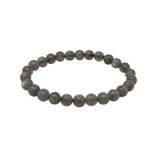 Closeup photo of Labradorite Bracelet A Quality 6mm