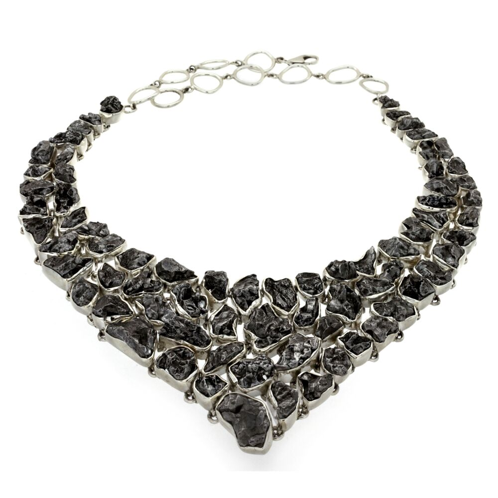Campo De Cielo Meteorite Necklace