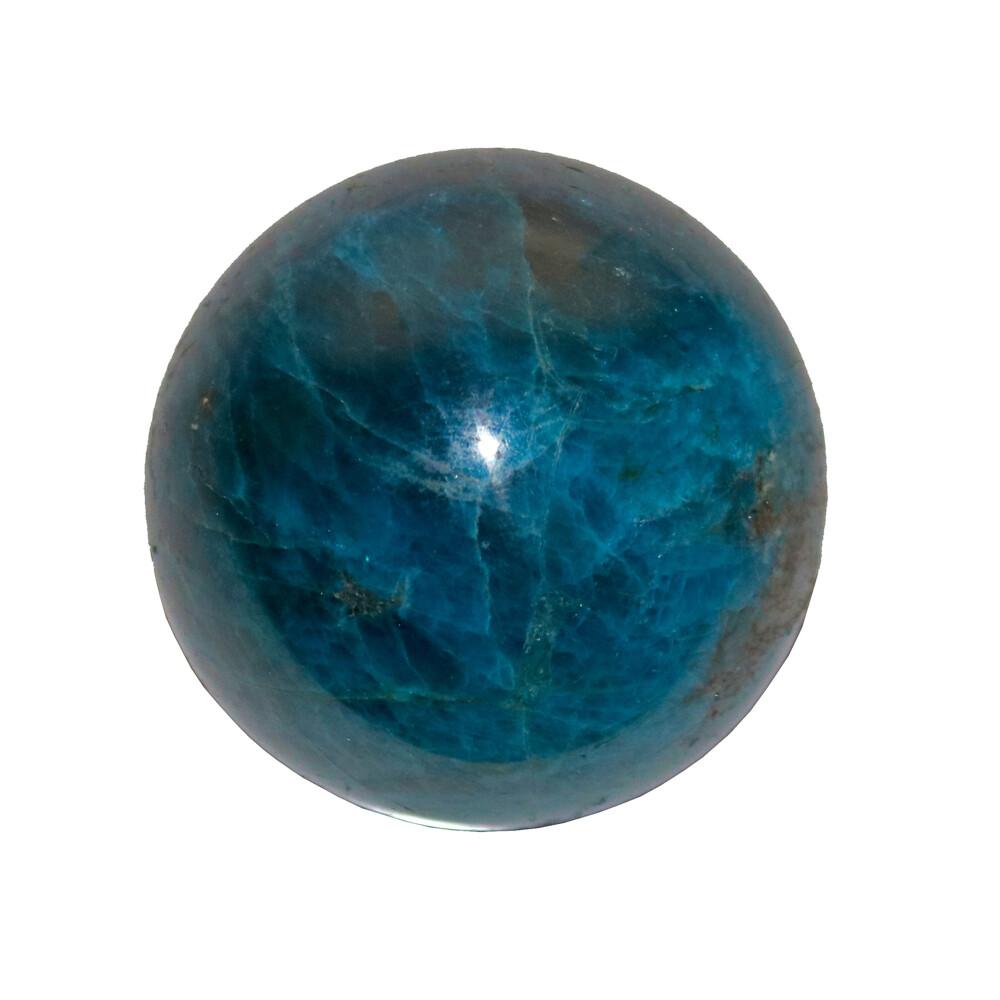 Blue Apatite Sphere 50mm