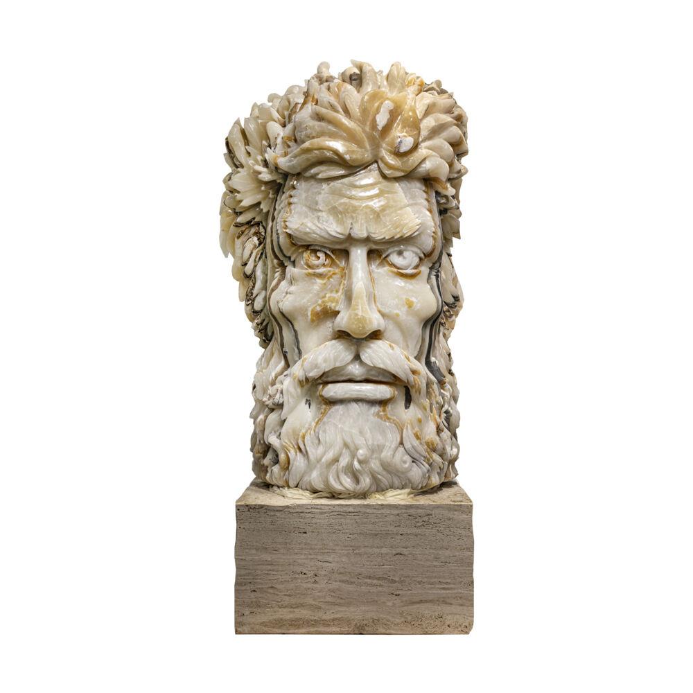 Nacar Onyx Zeus Carving