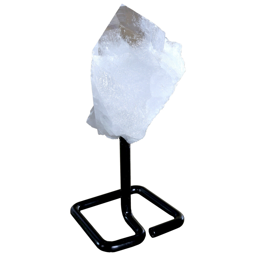 Quartz Cluster On Post Stand