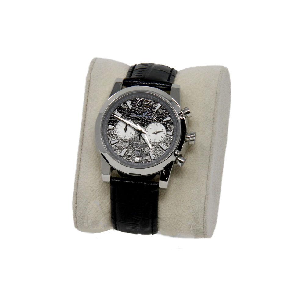 Muonionalusta Meteorite Watch -Rhodium: Miyota With Chronograph