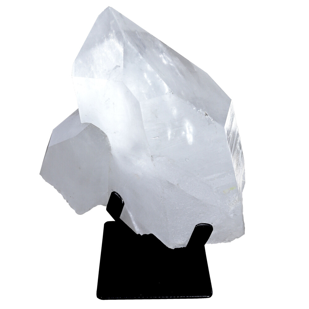 Image 2 for Quartz Point On Fitted Metal Stand -Unpolished
