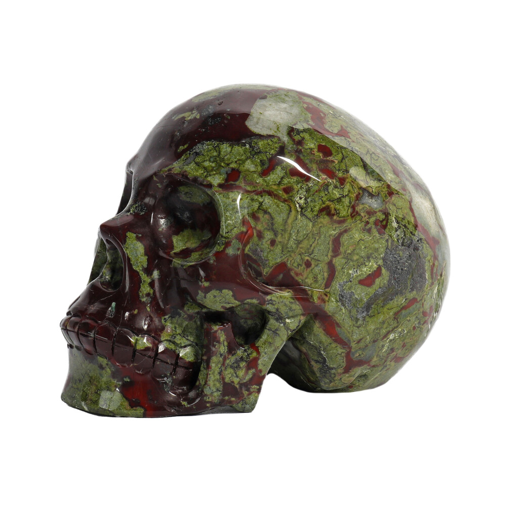 Image 2 for Dragon Bloodstone Skull