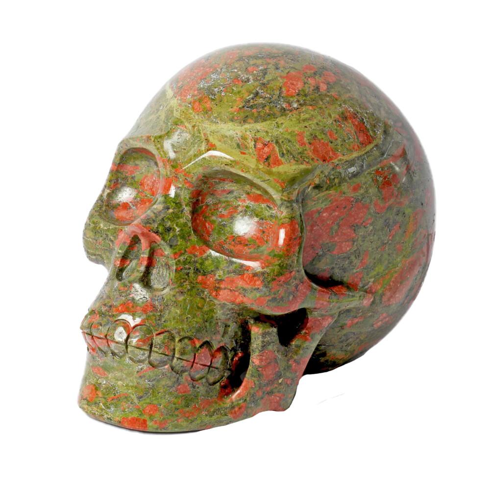 Unakite Skull -Large