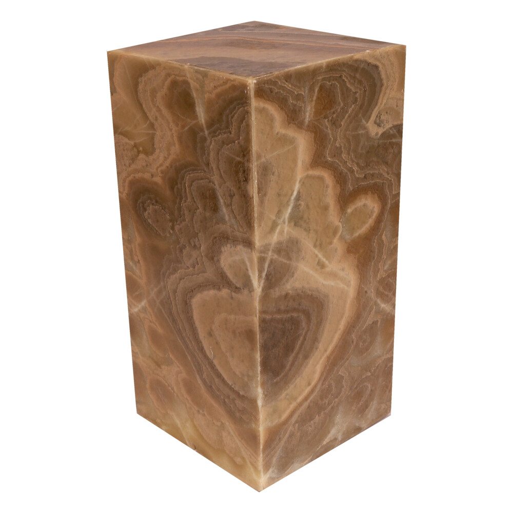 """Image 2 for Onyx Luminary - 6"""" Sq. X 12"""" Brown"""