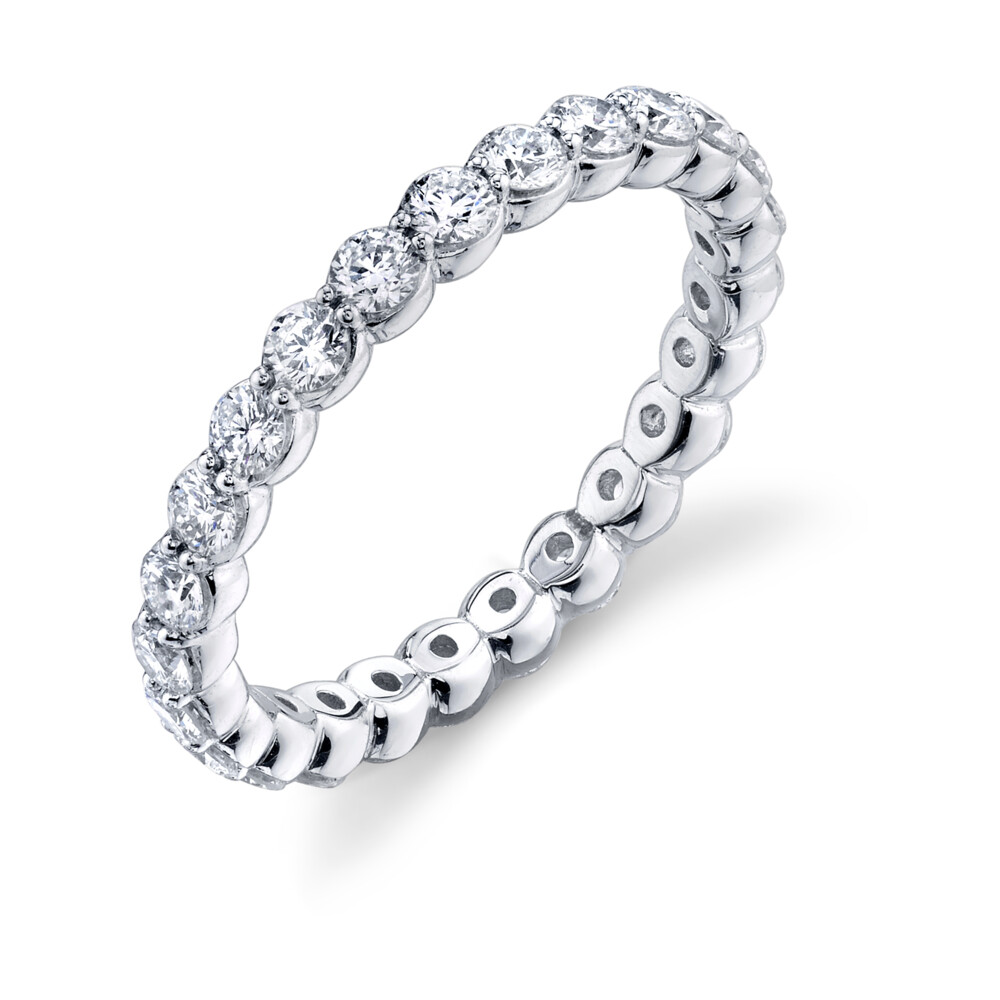 Image 2 for Pave Diamond Eternity Band