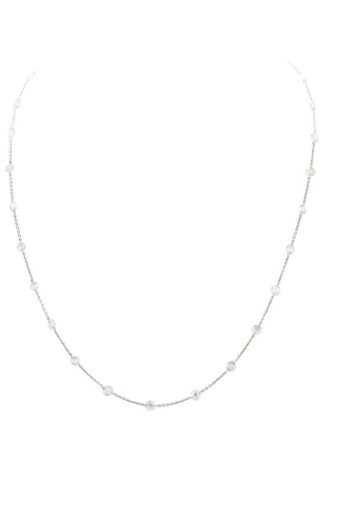 Floating Rosecut Diamond Chain