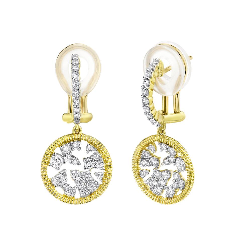 Celestial Small Drop Earrings