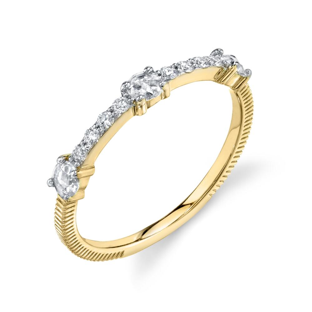Image 2 for Rosecut Diamond Dainty Ring