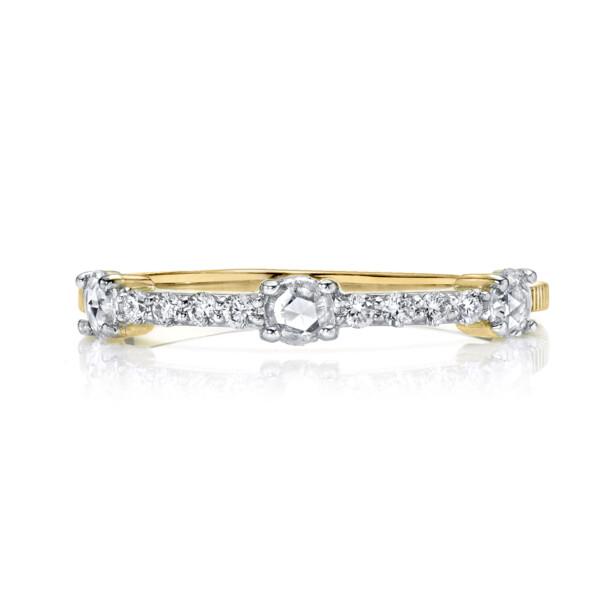 Closeup photo of Rosecut Diamond Dainty Ring