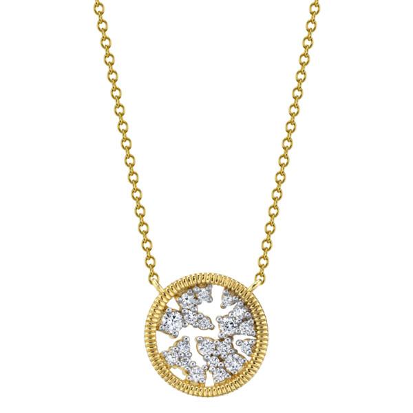 Closeup photo of Diamond Celestial Pendant