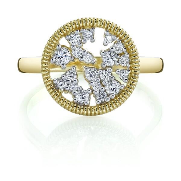 Closeup photo of Diamond Celestial Ring