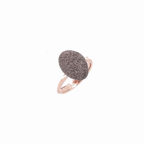 Rose Gold Antelope Polvere Ring