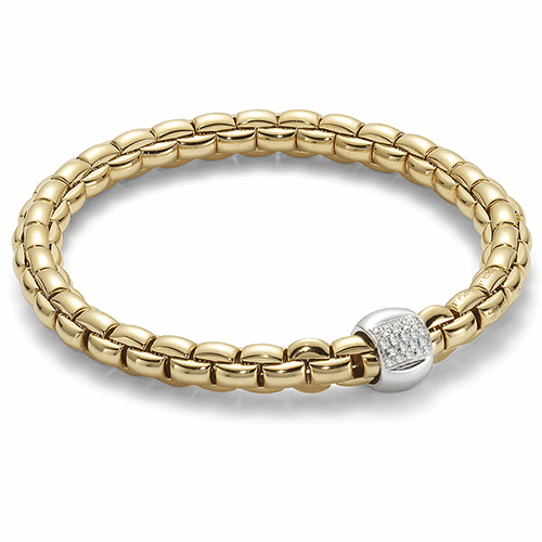 Image 2 for Eka Flex'it 18k Gold Diamond Bracelet - 701B BBRM