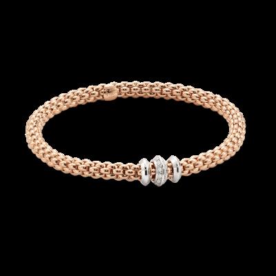 Image 2 for Flex'it White Gold Bracelet With Diamonds - 653B BBRM