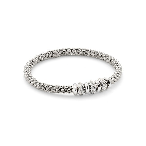 Solo Flex'it 18k Gold Bracelet With Diamonds - 657B BBRM