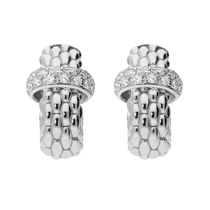 Image 2 for 18k Gold Vendome Earrings with Diamonds OR560 BBR