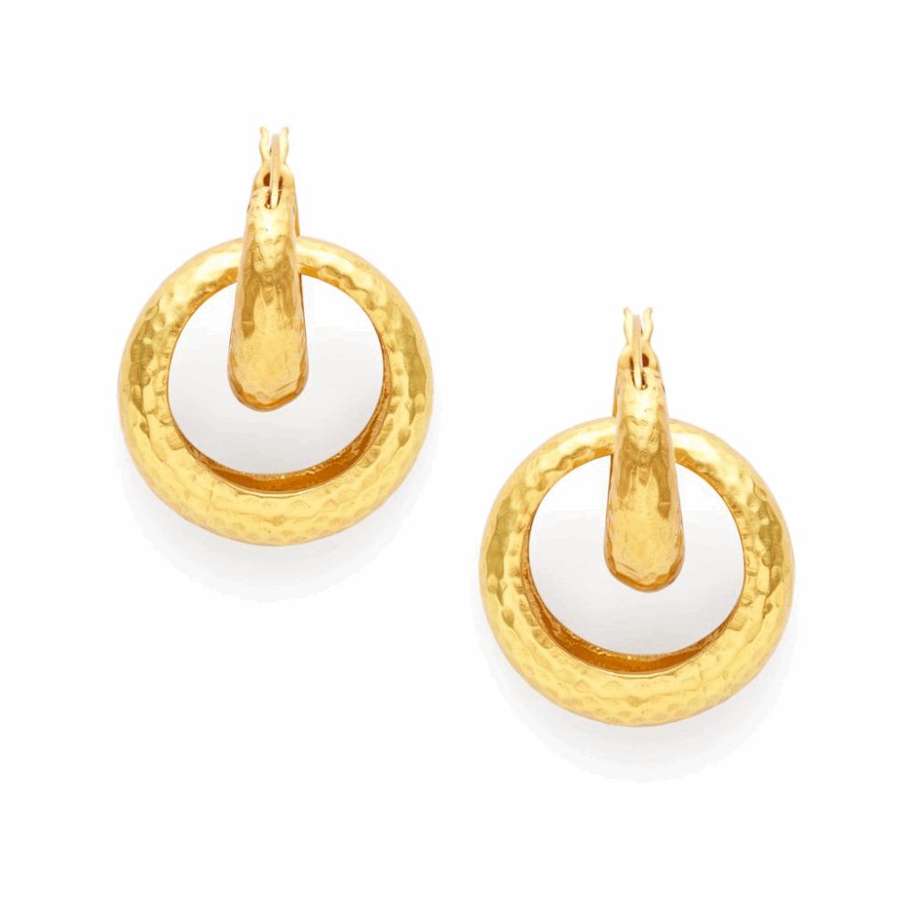 Catalina 2-in-1 Hoop Earrings