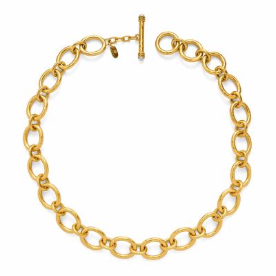 Closeup photo of Catalina Small Link Necklace