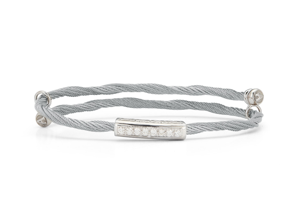 Adjustable Single Long Station Bangle