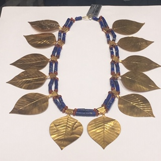 Sumerian Gold and Lapis Chaplet