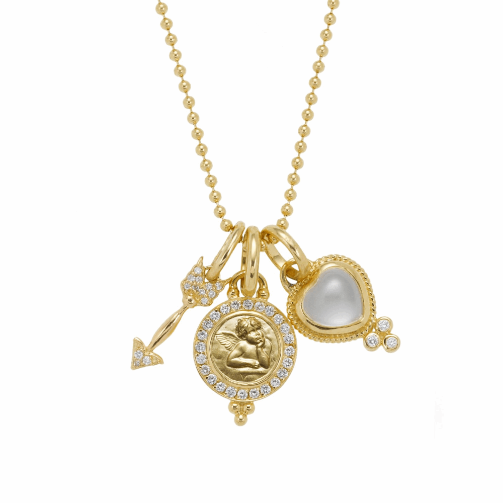 18k Amore Charm Necklace