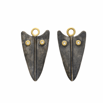Closeup photo of Spear Earring Charms