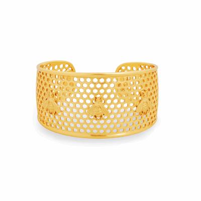 Closeup photo of Honeycomb Cuff