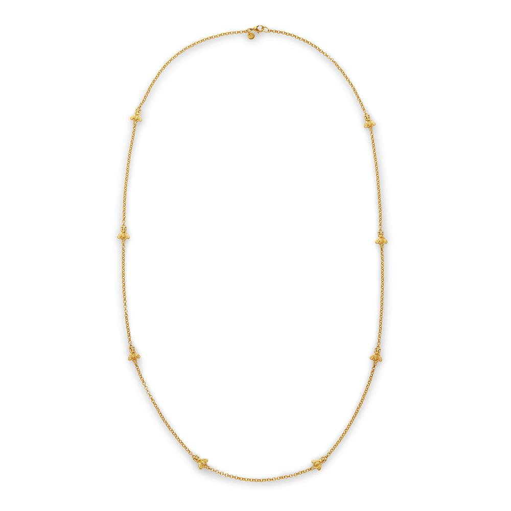 Bee Station NecklaceGold