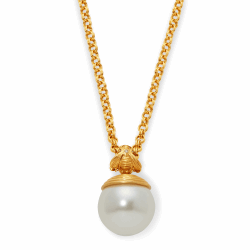 Closeup photo of Bee w/Pearl Pendant
