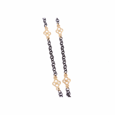Cable Chain With Scroll Components