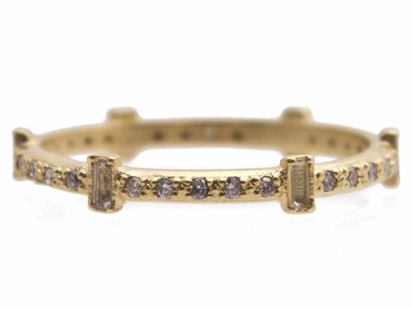 Closeup photo of 18k Yellow Gold Ring - 13537