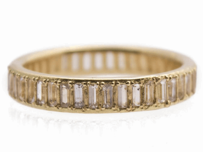 Closeup photo of 18k Yellow Gold Ring - 13429