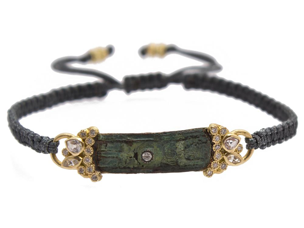 18k Yellow Gold Bracelet - 10351