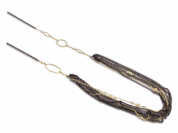 Closeup photo of Champagne Diamond Necklace
