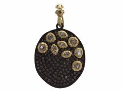 Closeup photo of Champagne Diamond Pendant