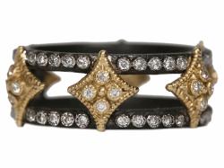Closeup photo of Champagne Diamond Ring - 34770