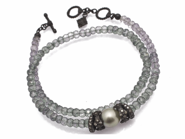 Closeup photo of Champagne Diamond Bracelet - 11655.0