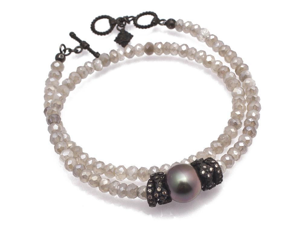 Champagne Diamond Bracelet - 11657.0