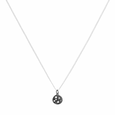 Silver Tiny Coin Pendant