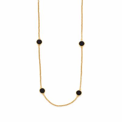 Valencia Station Necklace - Black Onyx