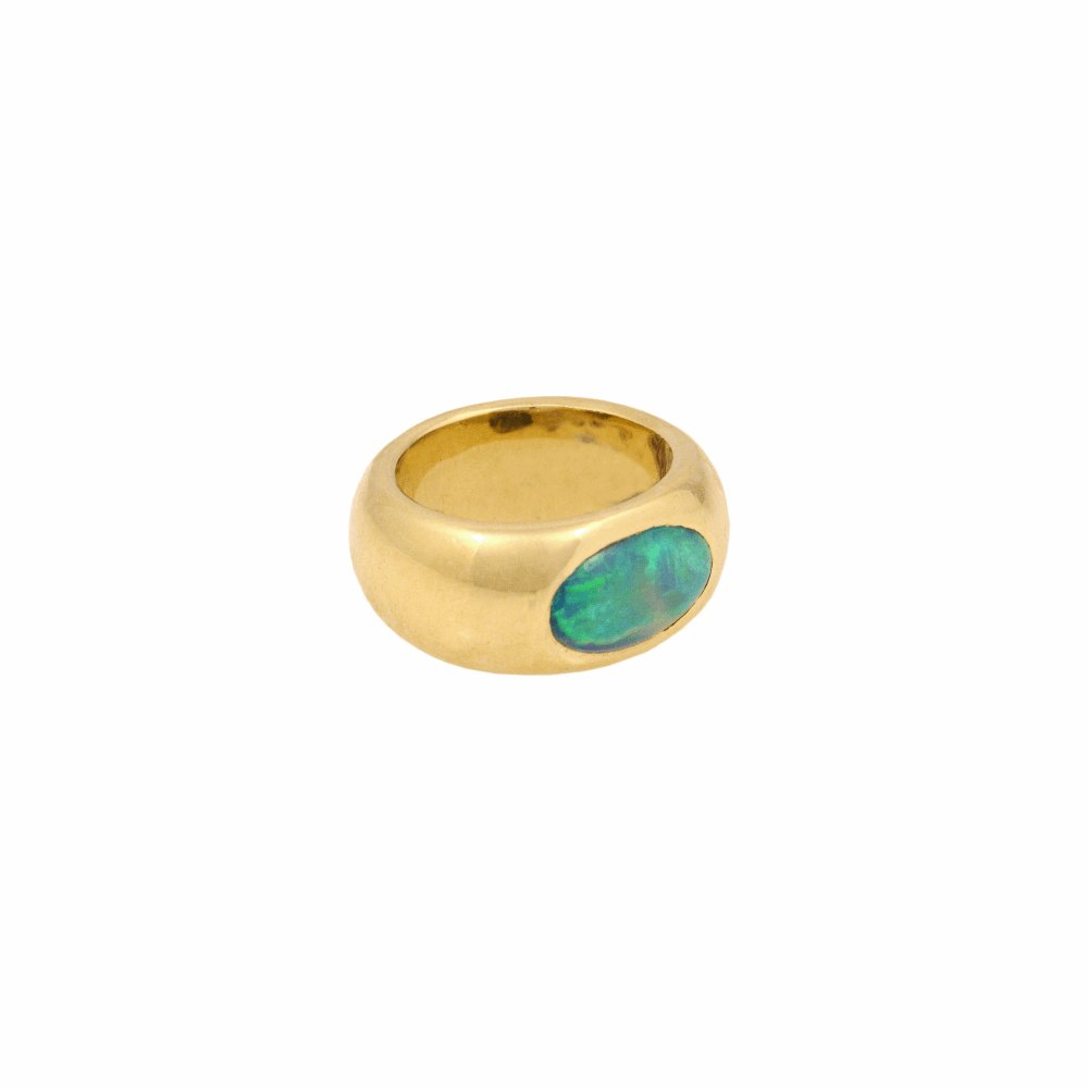 Image 2 for Oceanic Opal Gypsy Ring