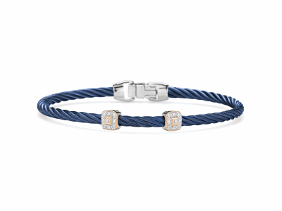 Closeup photo of Blueberry Diamond Bracelet