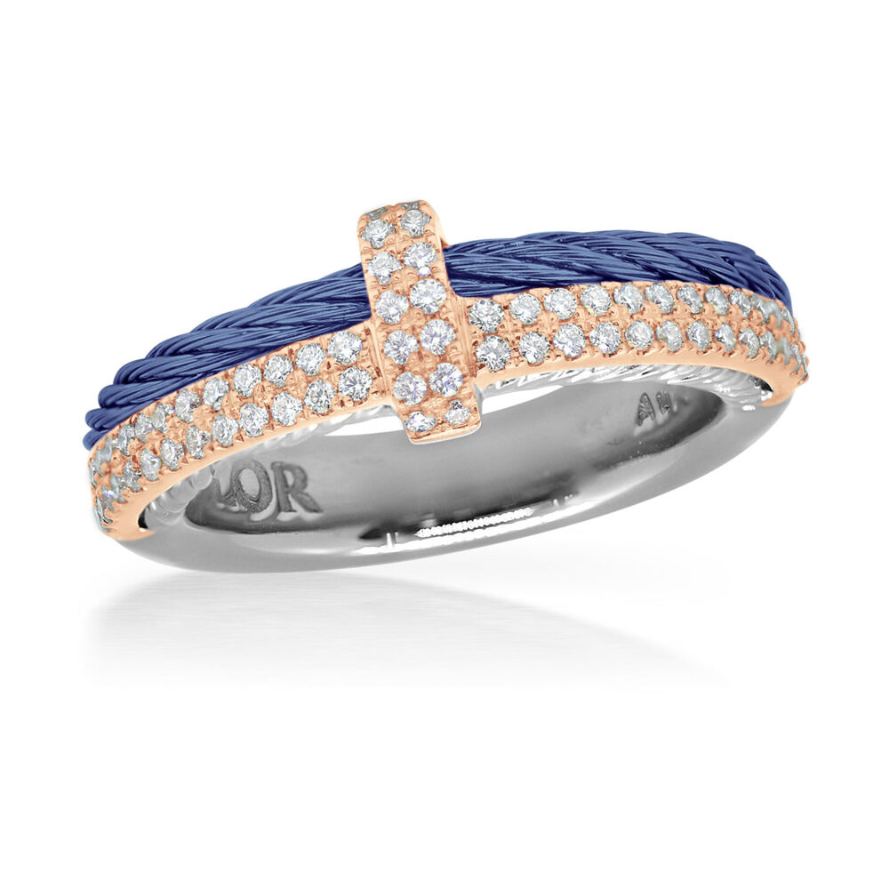 Image 2 for Blueberry & Rose Gold Ring
