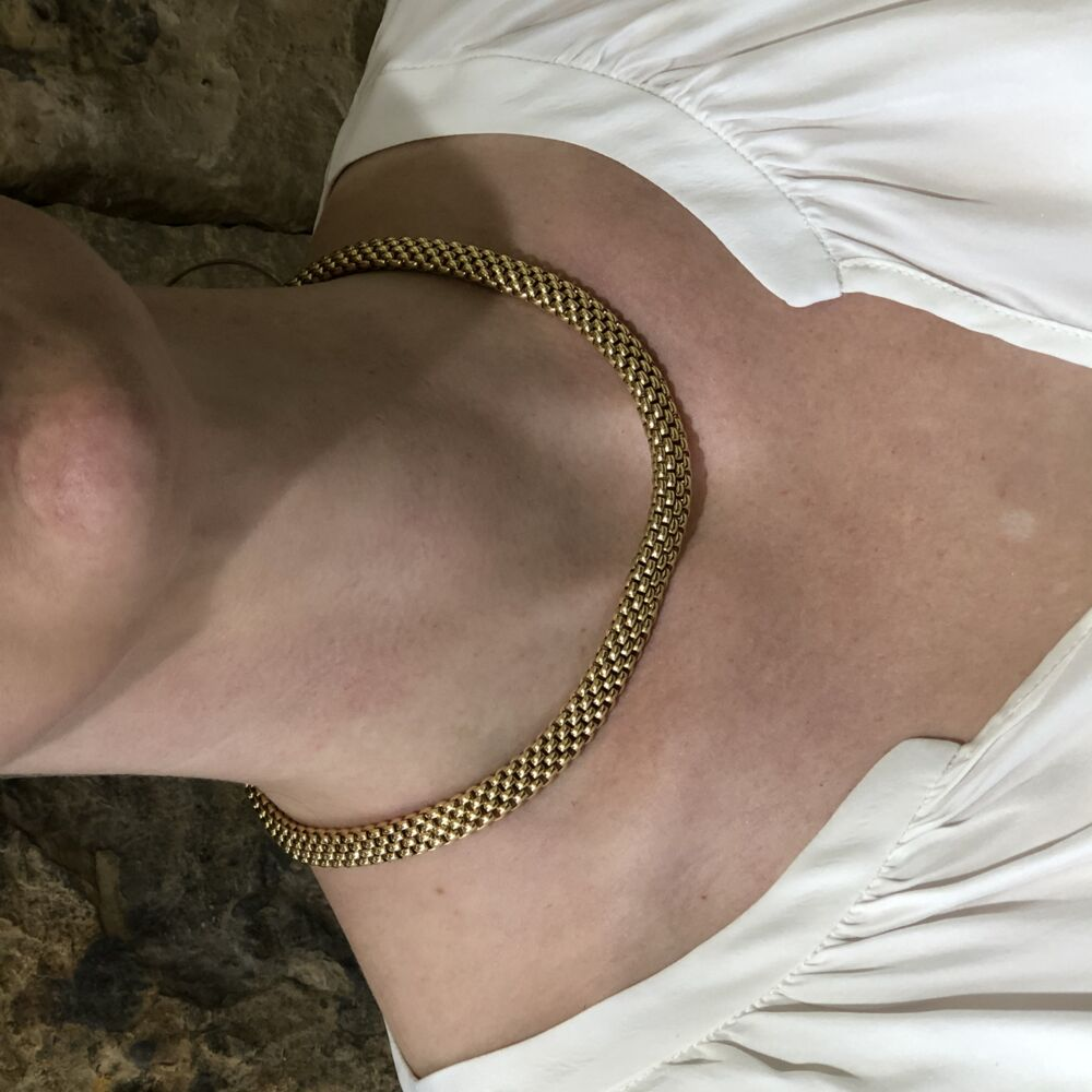 Estate Fope Woven Necklace
