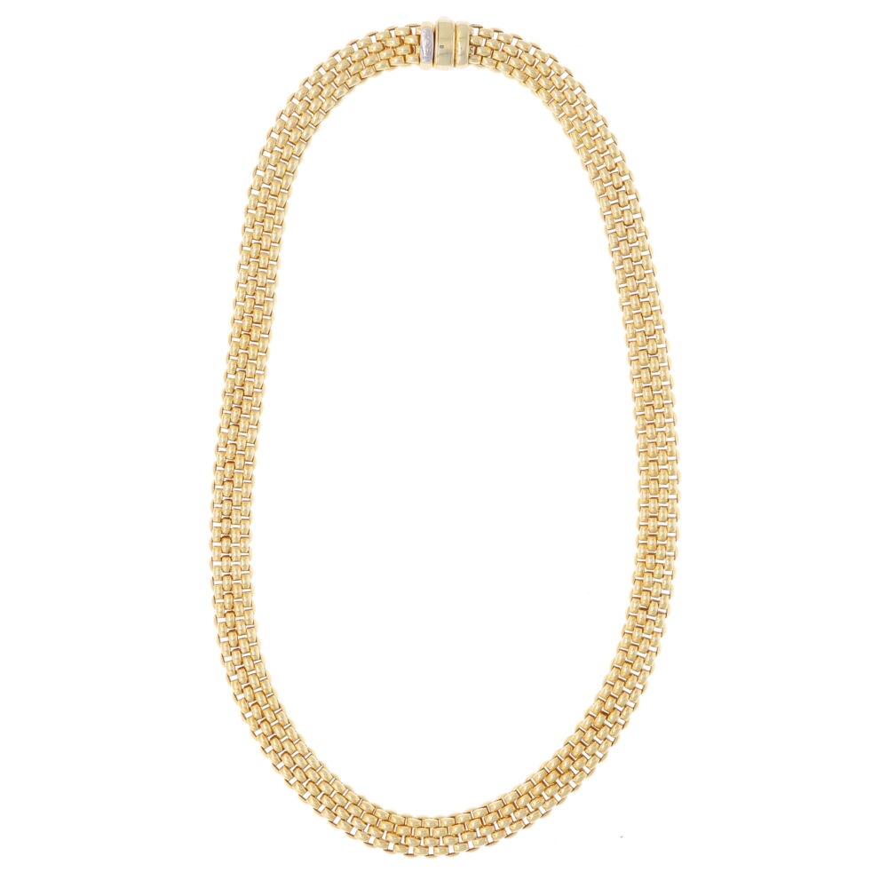 Image 2 for Estate Fope Woven Necklace