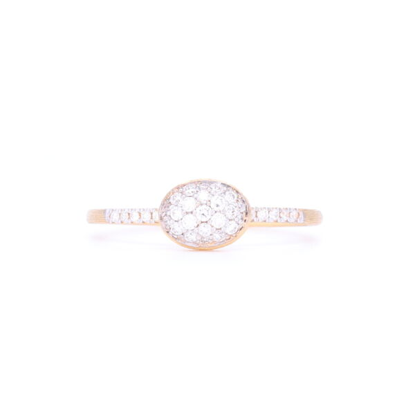 Closeup photo of Dancing Elite Petite Ring